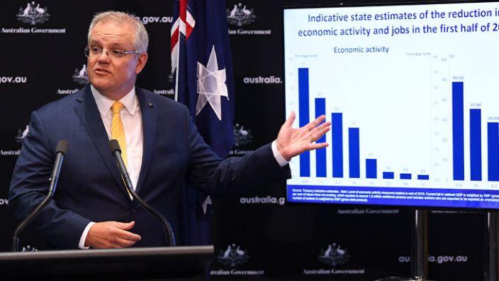 Scott Morrison wants to flatten the unemployment curve.